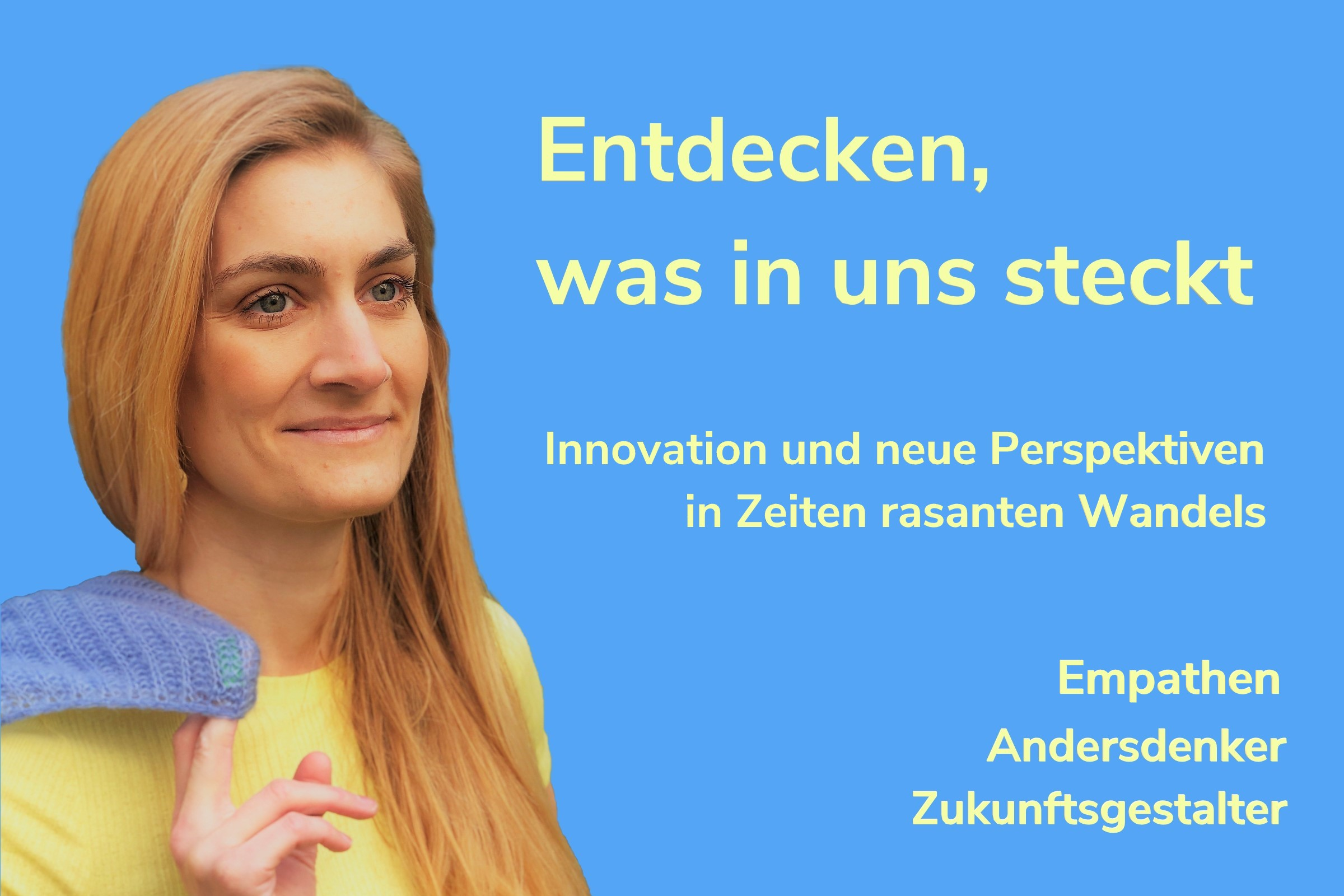 Dr. Nadine Lilienthal. Rechtsanwältin, Coach, Change Facilitator. Neue Perspektiven. Andersdenken. Zukunft gestalten. Zukunftsenthusiasten.